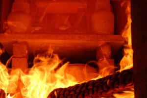 Gefäße bei der Feuerung