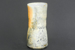 Small porcelain vase, reduction marks