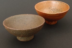 Small sake bowl made from clay from the Mostviertel