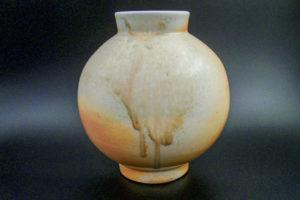 Moon vase, fine porcelain